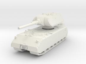 Panzer VIII Maus 1/100 in White Natural Versatile Plastic