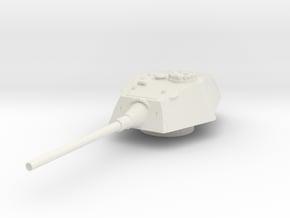E-100 Tank Turret 1/144 in White Natural Versatile Plastic
