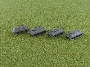 Schützenpanzer HS 30 APC 1/285 6mm in Smooth Fine Detail Plastic