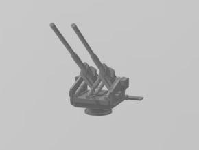 12.8 cm Twin Flak 40 1/48 in White Natural Versatile Plastic