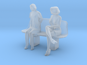 Printle S Couple 197 - 1/48 - wob in Smooth Fine Detail Plastic