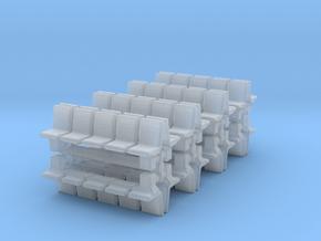 Platform Seats (x16) 1/400 in Smooth Fine Detail Plastic