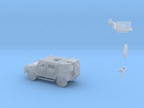 Lince-LMV+torreta-72 in Smoothest Fine Detail Plastic