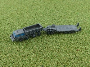 Czech Tatra 813 with P-50 Tank Trailer 1/285 6mm in Smooth Fine Detail Plastic