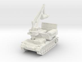 Munitionsschlepper Pz IV 60cm 1/76 in White Natural Versatile Plastic