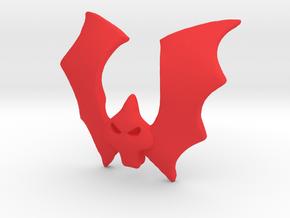 Horde Emblem VINTAGE in Red Processed Versatile Plastic