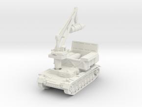 Munitionsschlepper Pz IV 54cm 1/120 in White Natural Versatile Plastic