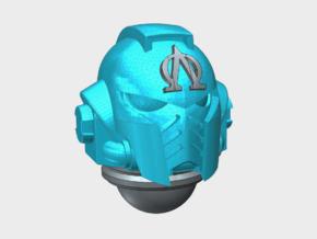 10x Lambda Omega - G:10 Prime Helmets in Smooth Fine Detail Plastic