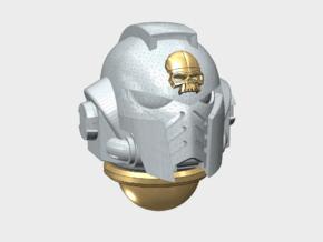 10x Skull Icon - G:10 Prime Helmets  in Smooth Fine Detail Plastic