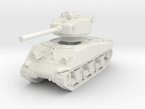 M4A3 Sherman 76mm 1/87 in White Natural Versatile Plastic