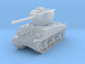 M4A3 Sherman 76mm 1/144 in Smooth Fine Detail Plastic