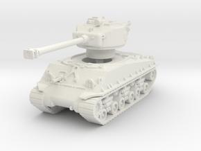 M4A3E8 Sherman 76mm 1/100 in White Natural Versatile Plastic