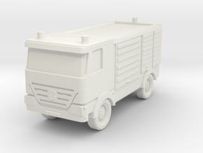 Mercedes Actros Fire Truck 1/48 in White Natural Versatile Plastic