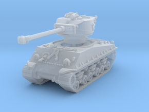 M4A3E8 Sherman 76mm 1/144 in Smooth Fine Detail Plastic