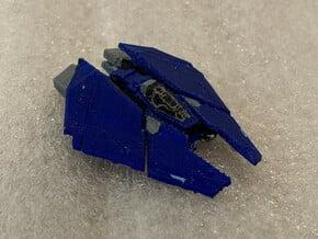 F63 Condor: Elite Dangerous in Smooth Fine Detail Plastic: 1:1000