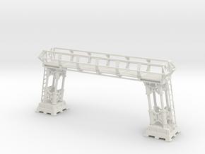 Main Hanger Deck Repair Gauntry in White Natural Versatile Plastic: 1:48 - O