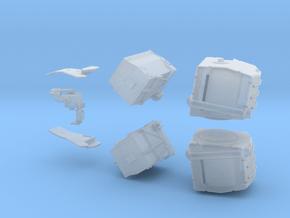 Oerlikon Twin Gun 35mm Modul 5 Ammunition Storage in Smooth Fine Detail Plastic: 1:35