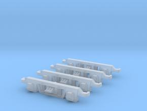 VR N Scale Cast Bogie Side Frames in Smooth Fine Detail Plastic