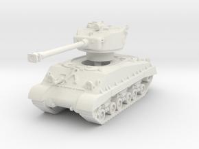 M4A3E8 Sherman 76mm (sandshield) 1/87 in White Natural Versatile Plastic