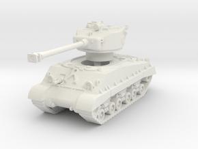 M4A3E8 Sherman 76mm (sandshield) 1/76 in White Natural Versatile Plastic