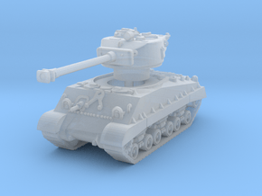 M4A3E8 Sherman 76mm (sandshield) 1/144 in Smooth Fine Detail Plastic