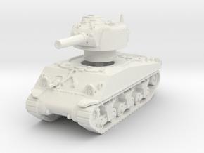 M4A3 Sherman 105mm 1/87 in White Natural Versatile Plastic