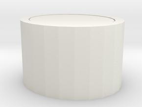 大蓋 in White Natural Versatile Plastic