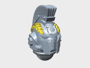 10x Ultra Laurel - Crested G:10 Prime Helmets in Smooth Fine Detail Plastic
