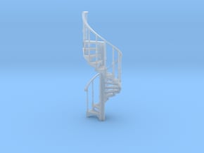 s-64fs-spiral-stairs-market-2a in Smooth Fine Detail Plastic