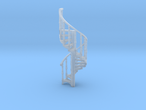 s-76fs-spiral-stairs-market-2a in Smooth Fine Detail Plastic