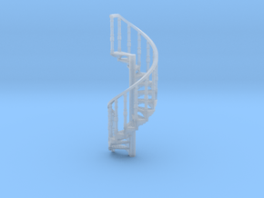 s-87fs-spiral-stairs-market-lr-2a in Smooth Fine Detail Plastic