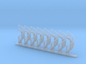 s-152fs-spiral-stairs-market-lh-x8 in Smooth Fine Detail Plastic