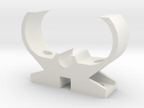 2G11-TL-Holder in White Natural Versatile Plastic