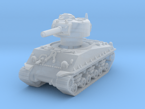 M4A3 Sherman HVSS 105mm 1/144 in Smooth Fine Detail Plastic