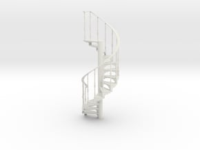 s-6-spiral-stairs-market-lh-2a in White Natural Versatile Plastic