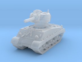 M4A3 HVSS 105mm (sandshield) 1/144 in Smooth Fine Detail Plastic