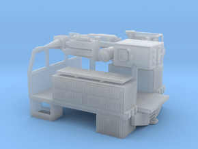 1/87th 8' long pickup sized service bed in Smooth Fine Detail Plastic