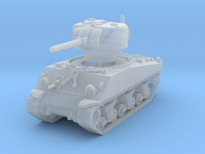 M4A3 Sherman 75mm 1/160 in Smooth Fine Detail Plastic
