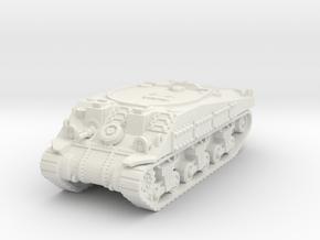 M4 Sherman ARV Mk1 1/87 in White Natural Versatile Plastic