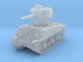 M4A3 Sherman 75mm late 1/144 in Smooth Fine Detail Plastic