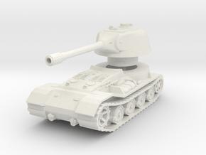 VK.7201 (K) Tank 1/76 in White Natural Versatile Plastic