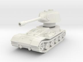 VK.7201 (K) Tank 1/56 in White Natural Versatile Plastic