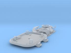 1:6 Tiger I loader's hatch (40mm roof) in Smooth Fine Detail Plastic