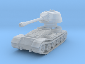 VK.7201 (K) Tank 1/200 in Smooth Fine Detail Plastic