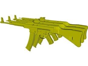 1/12 scale SturmGewehr StG-44 assault rifles x 3 in Smooth Fine Detail Plastic