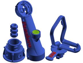 Panohero-Maxi for Hero 8 in Blue Processed Versatile Plastic