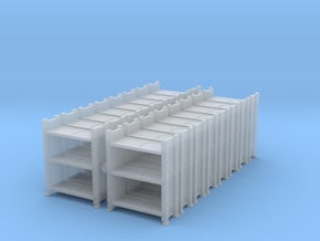 Warehouse Rack (x16) 1/220 in Smooth Fine Detail Plastic
