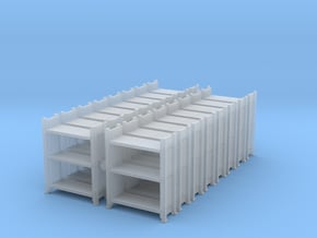 Warehouse Rack (x16) 1/350 in Smooth Fine Detail Plastic