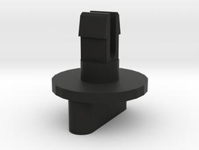 Audi A4 A6 Avant (warning triangle door) knob in Black Natural Versatile Plastic