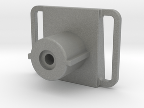 M4 Stock adaptor (for airsoft GALIL) in Gray PA12